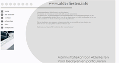 Preview of alderliesten.info